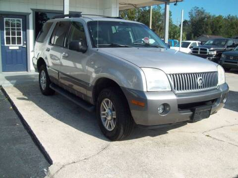 2005 Mercury Mountaineer for sale at LONGSTREET AUTO in St Augustine FL