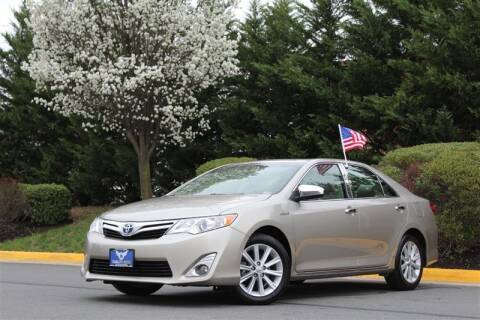 2013 Toyota Camry Hybrid for sale at Quality Auto in Manassas VA