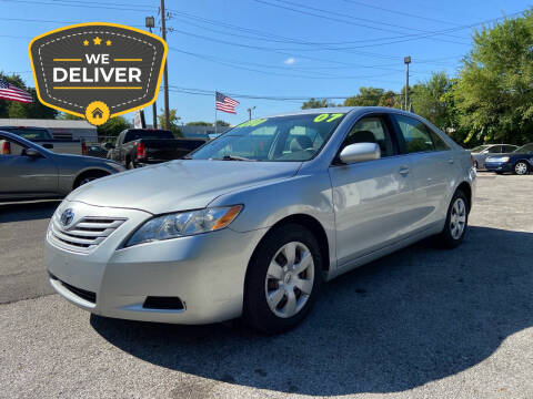2007 Toyota Camry for sale at NJ Enterprises in Indianapolis IN