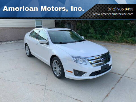 2011 Ford Fusion for sale at American Motors, Inc. in Farmington MN