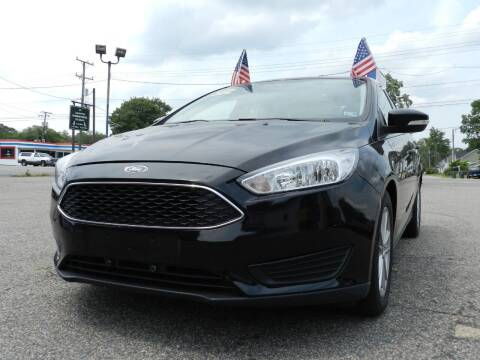 2016 Ford Focus for sale at Wheel Deal Auto Sales LLC in Norfolk VA