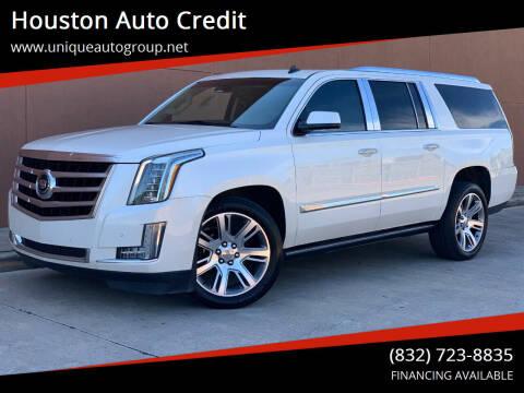 2015 Cadillac Escalade ESV for sale at Houston Auto Credit in Houston TX