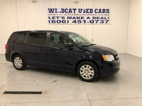 2016 Dodge Grand Caravan for sale at Wildcat Used Cars in Somerset KY