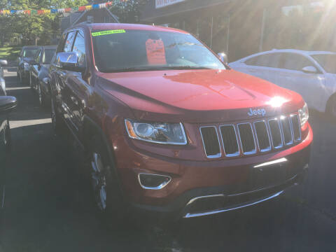 2015 Jeep Grand Cherokee for sale at MELILLO MOTORS INC in North Haven CT