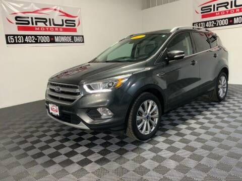 2017 Ford Escape for sale at SIRIUS MOTORS INC in Monroe OH