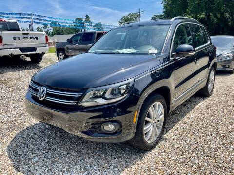 2016 Volkswagen Tiguan for sale at Southeast Auto Inc in Walker LA