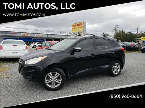 2012 Hyundai Tucson for sale at TOMI AUTOS, LLC in Panama City FL