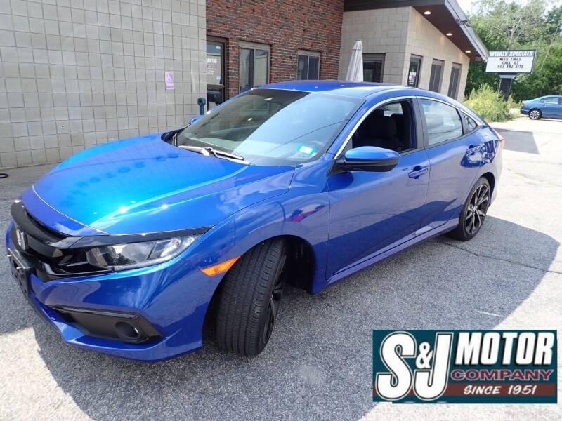 2020 Honda Civic for sale at S & J Motor Co Inc. in Merrimack NH