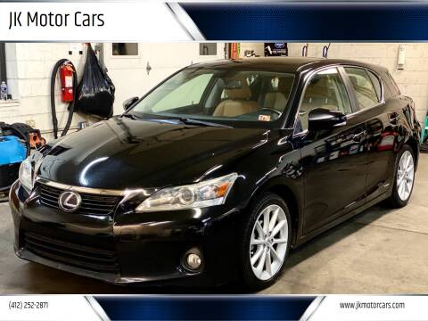 2012 Lexus CT 200h for sale at JK Motor Cars in Pittsburgh PA