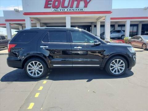 2016 Ford Explorer for sale at EQUITY AUTO CENTER in Phoenix AZ