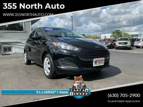 2016 Ford Fiesta for sale at 355 North Auto in Lombard IL