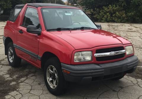 2000 Chevrolet Tracker for sale at Square Business Automotive in Milwaukee WI