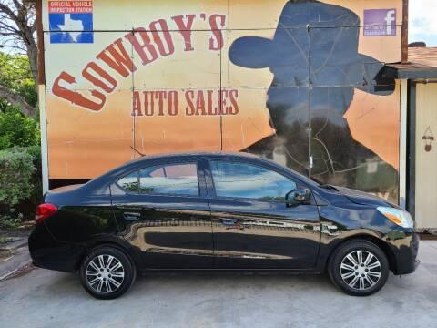 2018 Mitsubishi Mirage G4 for sale at Cowboy's Auto Sales in San Antonio TX