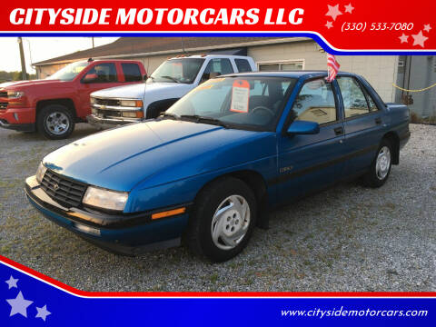 1992 Chevrolet Corsica for sale at CITYSIDE MOTORCARS LLC in Canfield OH