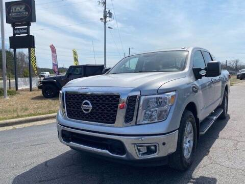 2017 Nissan Titan for sale at J T Auto Group in Sanford NC