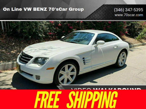 2004 Chrysler Crossfire for sale at On Line VW BENZ 70'sCar Group in Warehouse CA