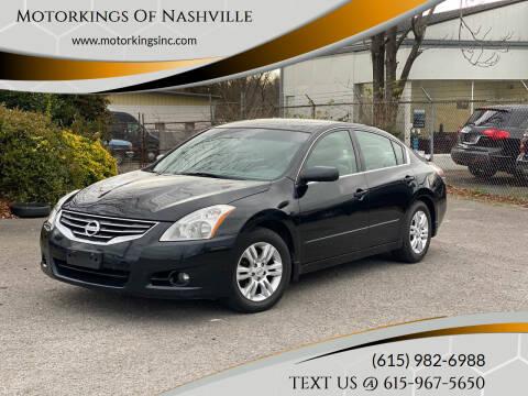 2012 Nissan Altima for sale at Motorkings Of Nashville in Nashville TN