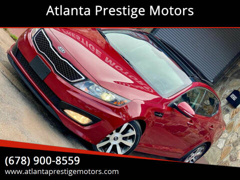 2012 Kia Optima for sale at Atlanta Prestige Motors in Decatur GA