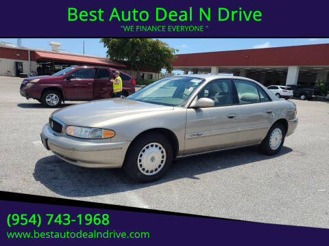 2001 Buick Century for sale at Best Auto Deal N Drive in Hollywood FL