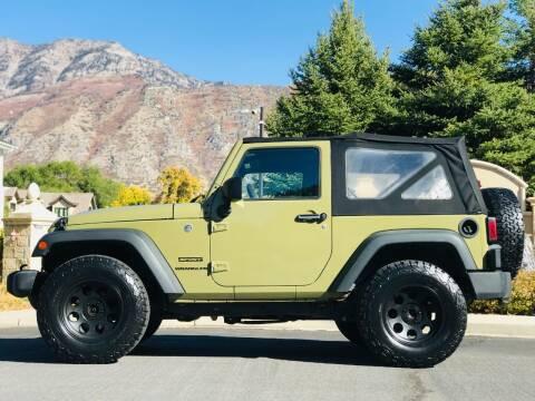 2013 Jeep Wrangler for sale at Avanesyan Motors in Orem UT