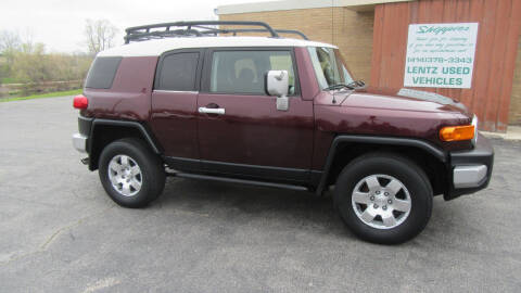 2007 Toyota FJ Cruiser for sale at LENTZ USED VEHICLES INC in Waldo WI