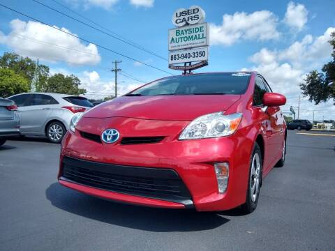 2013 Toyota Prius for sale at BAYSIDE AUTOMALL in Lakeland FL
