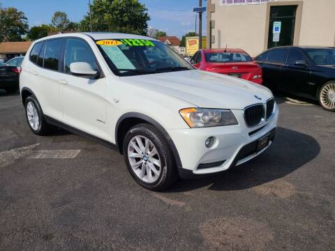 2013 BMW X3 for sale at Costas Auto Gallery in Rahway NJ