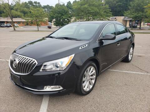 2016 Buick LaCrosse for sale at Borderline Auto Sales in Loveland OH