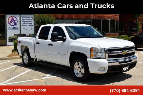 2011 Chevrolet Silverado 1500 for sale at Atlanta Cars and Trucks in Kennesaw GA