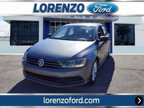 2015 Volkswagen Jetta for sale at Lorenzo Ford in Homestead FL