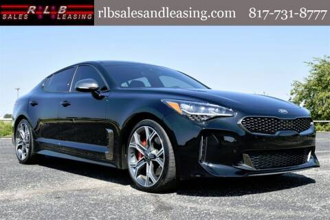 2019 Kia Stinger for sale at RLB Sales and Leasing in Fort Worth TX
