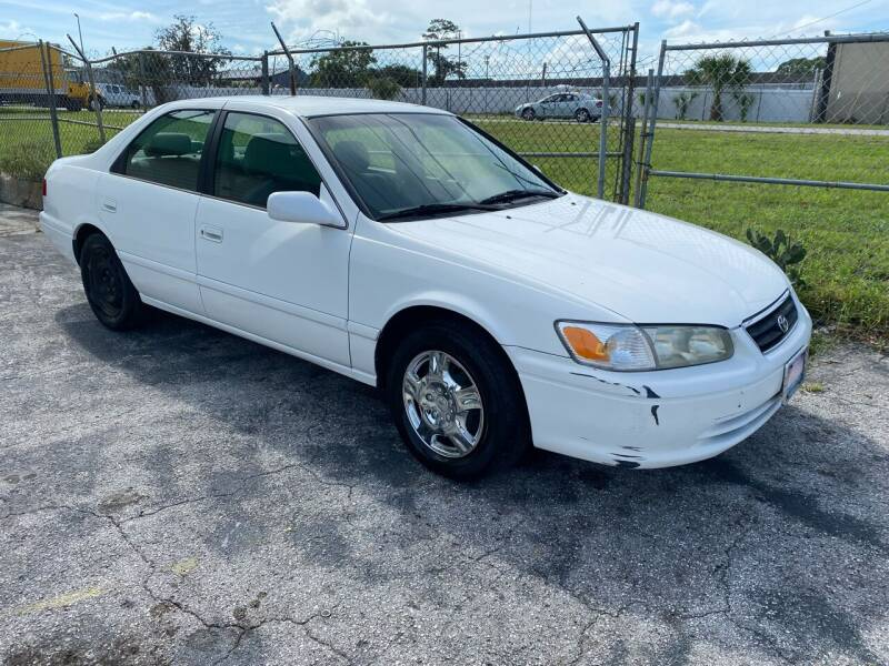 2001 Toyota Camry for sale at Jack's Auto Sales in Port Richey FL