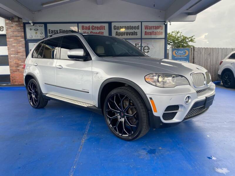 2012 BMW X5 for sale at ELITE AUTO WORLD in Fort Lauderdale FL