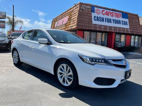 2018 Acura ILX for sale at CARSTER in Huntington Beach CA