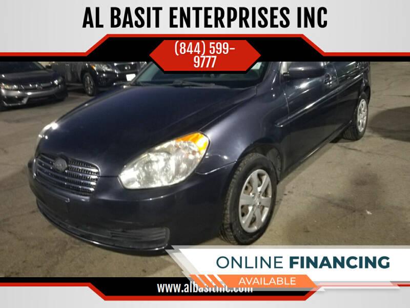 2011 Hyundai Accent for sale at AL BASIT ENTERPRISES INC in Riverside CA