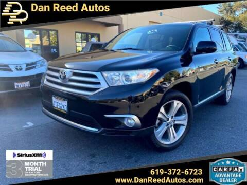 2012 Toyota Highlander for sale at Dan Reed Autos in Escondido CA