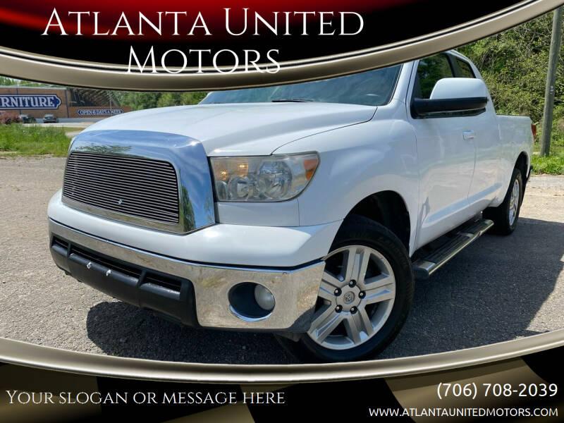 2012 Toyota Tundra for sale at Atlanta United Motors in Jefferson GA
