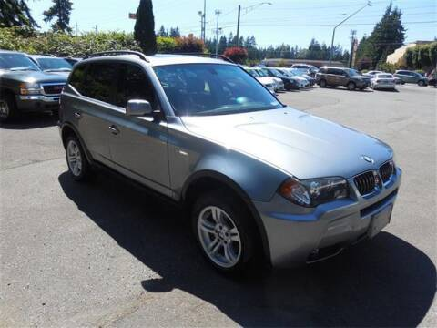 2006 BMW X3 for sale at Autoplex Motors in Lynnwood WA
