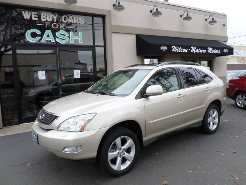 2004 Lexus RX 330 for sale at Wilson-Maturo Motors in New Haven Ct CT
