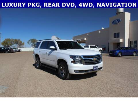 2019 Chevrolet Tahoe for sale at STANLEY FORD ANDREWS in Andrews TX