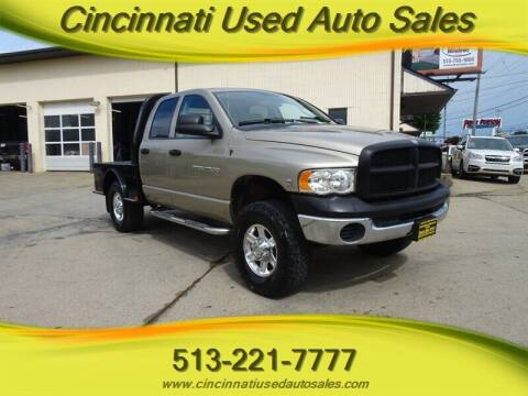 2003 Dodge Ram Pickup 2500 for sale at Cincinnati Used Auto Sales in Cincinnati OH