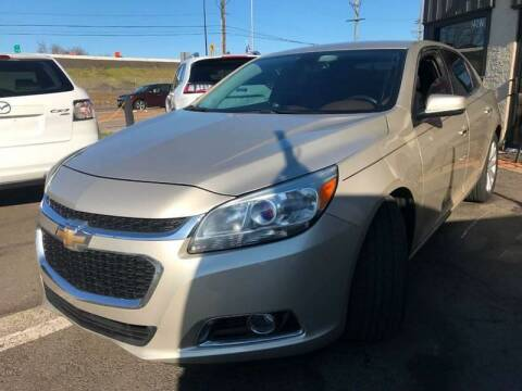 2015 Chevrolet Malibu for sale at Luxury Unlimited Auto Sales Inc. in Trevose PA