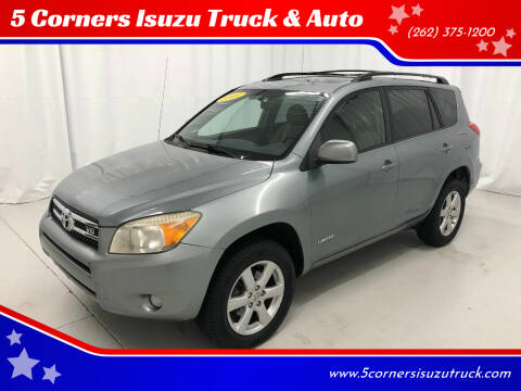 2007 Toyota RAV4 for sale at 5 Corners Isuzu Truck & Auto in Cedarburg WI