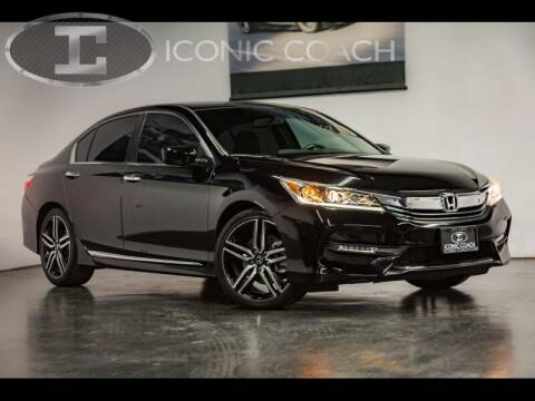 2016 Honda Accord for sale at Iconic Coach in San Diego CA