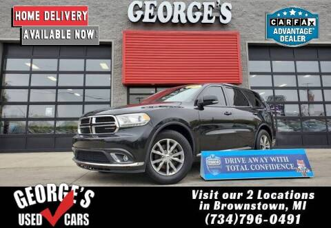 2015 Dodge Durango for sale at George's Used Cars - Pennsylvania & Allen in Brownstown MI