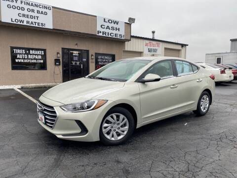 2017 Hyundai Elantra for sale at Used Car Factory Sales & Service Troy in Troy OH
