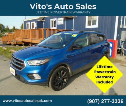 2018 Ford Escape for sale at Vito's Auto Sales in Anchorage AK