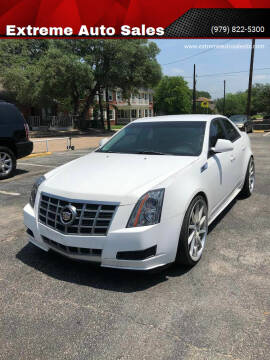 2012 Cadillac CTS for sale at Extreme Auto Sales in Bryan TX