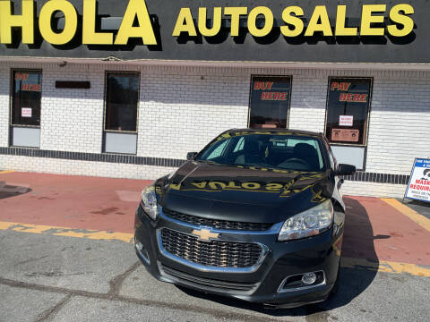 2014 Chevrolet Malibu for sale at HOLA AUTO SALES CHAMBLEE- BUY HERE PAY HERE - in Atlanta GA