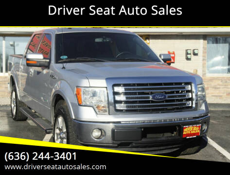 2013 Ford F-150 for sale at Driver Seat Auto Sales in St. Charles MO